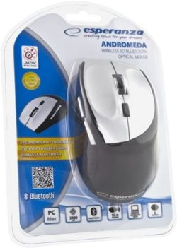 Myszka do tabletu smatfona PS3 bluetooth Esperanza Andromeda EM123S