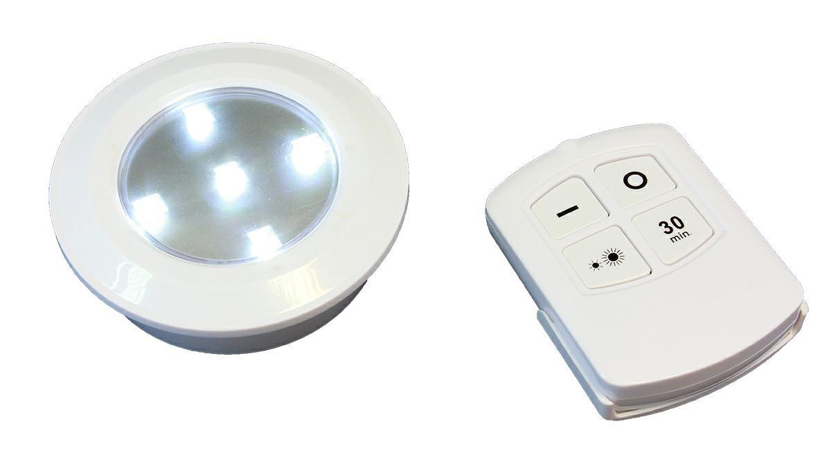 6x Lampka Bezprzewodowa Lampa Led Na Baterie Pilot