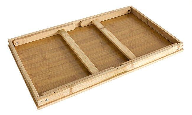 Drewniany Stolik Pod Laptopa Notebooka Sniadaniowy