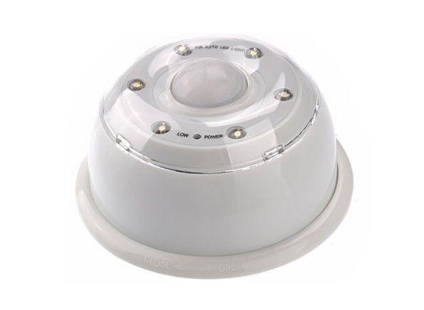 Lampka 6 Led Czujnik Ruchu Na Baterie Dom I Ogród Oświetlenie